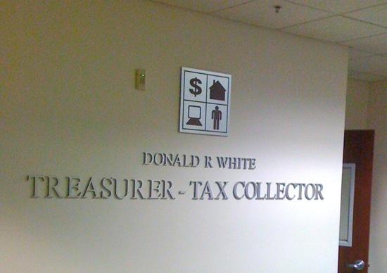 Treasurer - Tax Collector Donald R. White